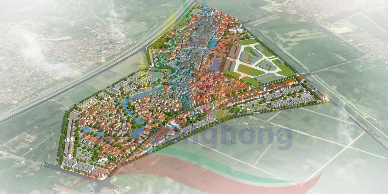 Quy hoạch chi tiết một số thôn tại xã Vân Hà