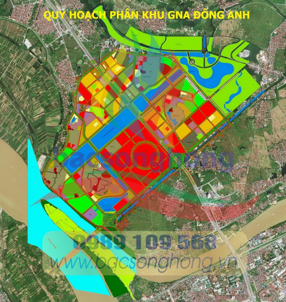 Quy hoạch phân khu GNA - Đông Anh