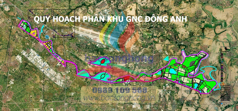 Quy hoạch phân khu GNC - Đông Anh