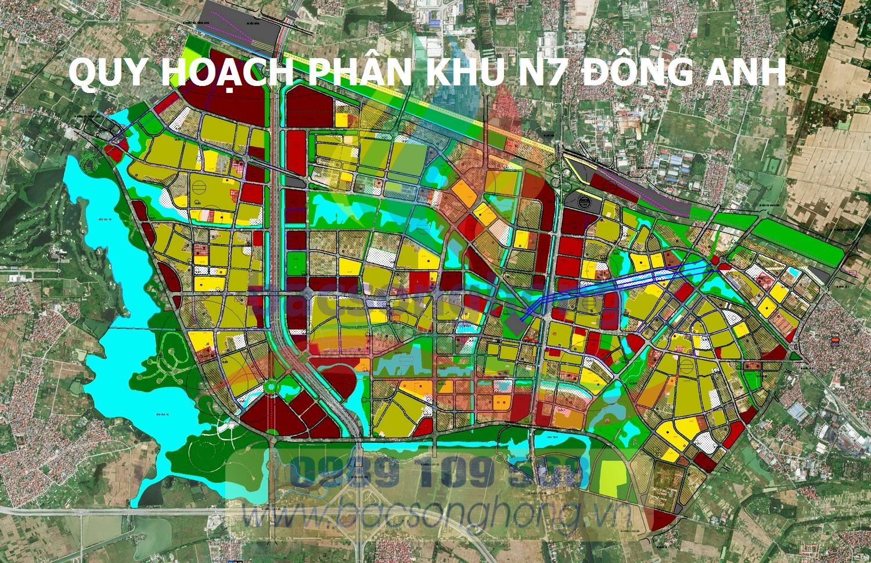 Quy hoạch phân khu N7 - Đông Anh