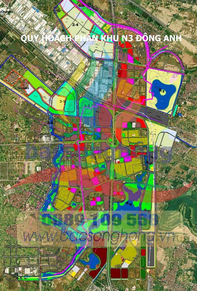 Quy hoạch phân khu N3 - Đông Anh