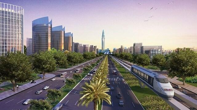 Hạ tầng của thành phố sẽ được đồng bộ hiện đại và kết nối với nhau bằng giao thông đô thị và tàu điện
