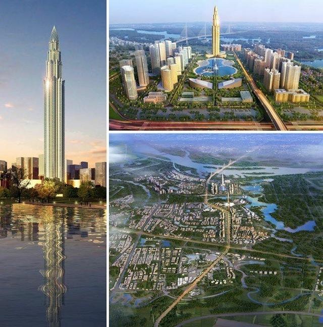 liên doanh nhà đầu tư BRG-Sumitomo sẽ thực hiện khởi công xây dựng khu siêu đô thị dọc theo tuyến đường Nhật Tân – Nội Bài