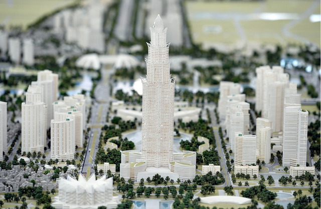Kiến trúc của thành phố sẽ được quy hoạch theo hướng hoàn toàn thân thiện với tự nhiên, sử dụng các lĩnh vực năng lượng và công nghệ cao.