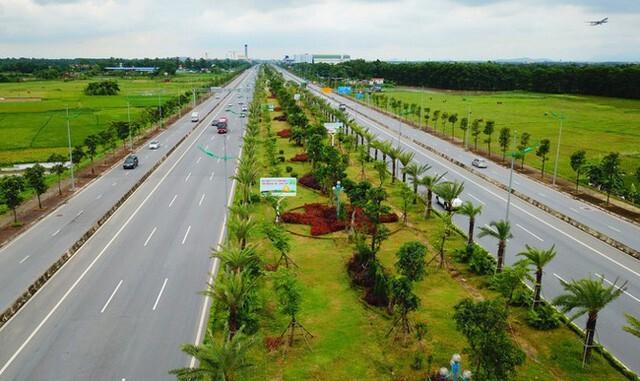 Hiện trạng tuyến đường Nhật Tân – Nội Bài
