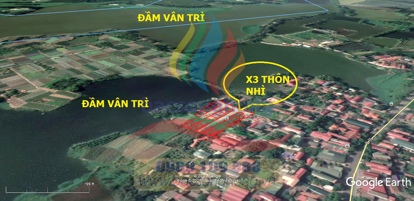 Vị trí X3 xóm nhì Vân Nội