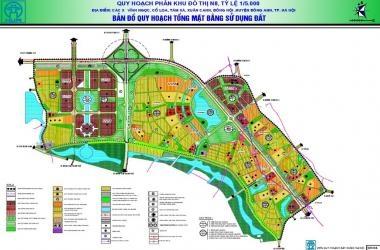 Phê duyệt quy hoạch Phân khu đô thị N8 tại huyện Đông Anh