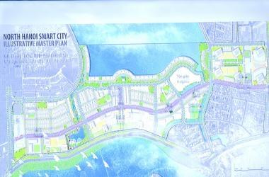 UBND Huyện Đông Anh tổ chức hội nghị triển khai các bước thuộc Dự án tổ hợp Thành phố thông minh tại Huyện Đông Anh