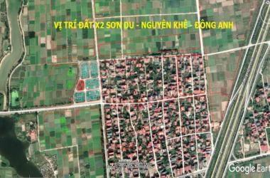 Bán đất X2 Sơn Du Nguyên Khê