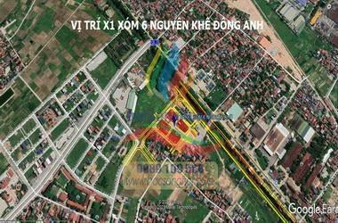 Bán đất x1 xóm 6 nguyên khê Đông Anh